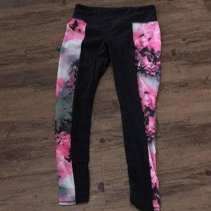 Floral Athleta pants